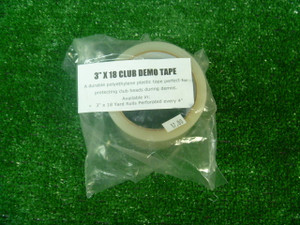 "Brampton Club Demo Tape - 3"" X 18 Yards - Perfect for Demo Clubs"
