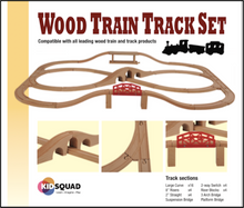 Wooden Train Track Set - extension kit