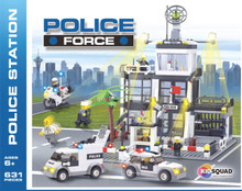 Police Force building blocks