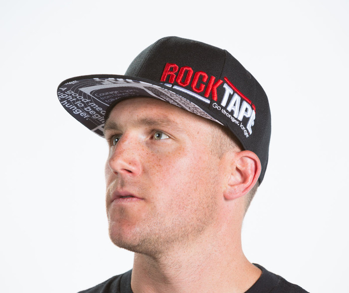 "Black ""Supreme"" Snap-Back Hat"