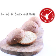 Incredible Buckwheat Rolls (4 in a pack)