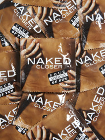 Four Seasons Naked Closer Fit 49mm Condoms (24 loose packed)