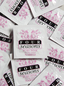 Four Seasons Pure Pink Condoms (24 loose packed)