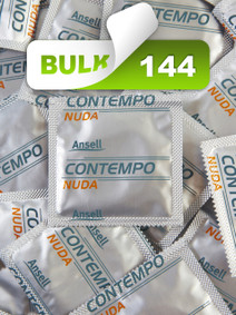 Ansell Nuda Condoms (144 Bulk) - Buy Bulk Condoms Online