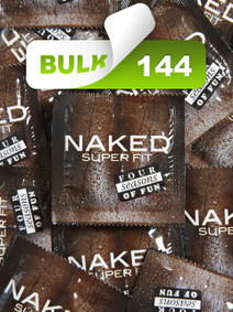 Four Seasons Naked Super Fit 56mm Condoms (144 Bulk) - Buy Bulk Condoms Online