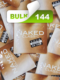 Four Seasons Naked Condoms (144 Bulk) - Buy Bulk Condoms Online