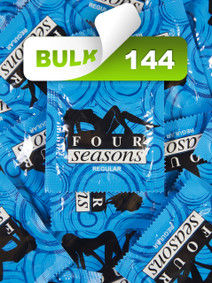 Four Seasons Regular Condoms (144 Bulk) - Buy Bulk Condoms Online