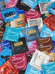 Assorted Mix Condoms (24 loose packed)