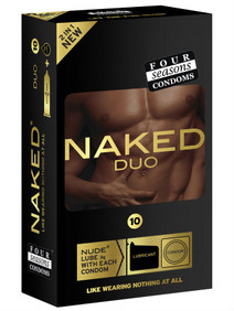 Four Seasons Naked Duo Condoms - Buy Online