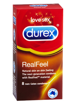 Durex Real Feel Condoms (Non-Latex) - Buy Condoms Online