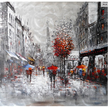 Modrest Raining In Paris Oil Painting