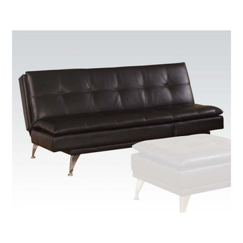 Frasier Black Adjustable Sofa