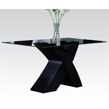 Pervis Black Dining Table