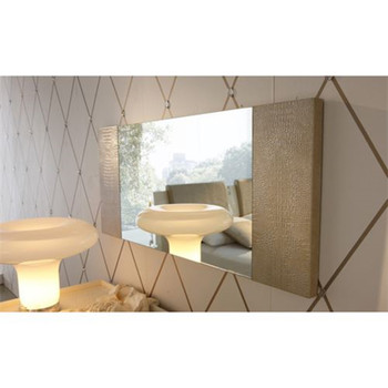 Diamond Beige Bedroom Mirror