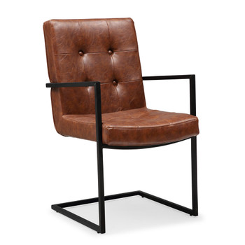Stanley Leather Dining Chair