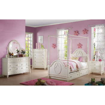 Dorothy Ivory Bedroom Mirror