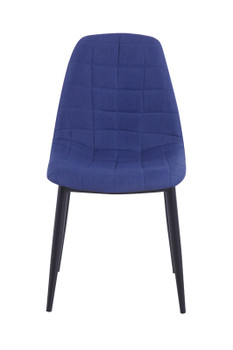 Zella - Modern Blue Dining Chair (Set of 2)