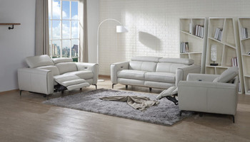 Lorenzo Sofa in Light Grey