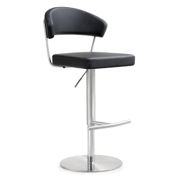 Cosmo Adjustable Steel Barstool