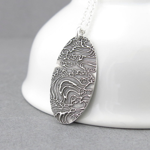 Hope Necklace - Turbulent Waters
