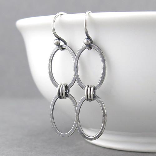 Aubrey Earrings - Sterling Silver