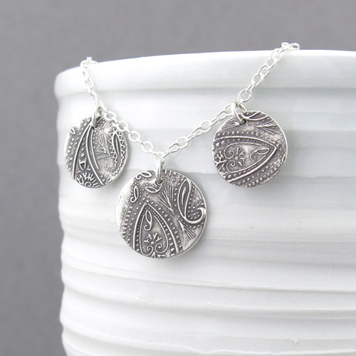 Serenity Necklace - Dainty Paisley