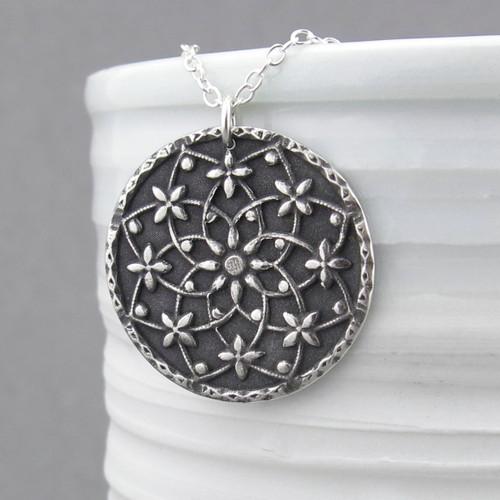 Filigree Mandala Necklace