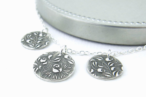 Serenity Necklace - Climbing Roses