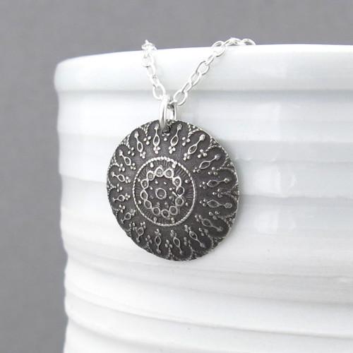 Antique Doily Necklace