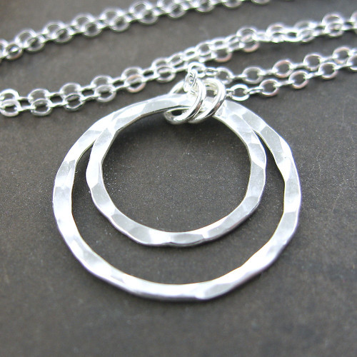 Shimmer Layers Necklace