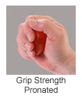 hand therapy balls for grip pronated exercises