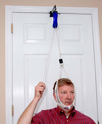 NeckPro II over-the-door neck traction device