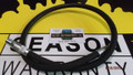 "4424 FISHER HOSE, 1/4 X 36 W/NPT ENDS SAE 100R1 HOSE, 1/4"" NPTF THD"