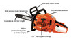 "Echo CS-310 30.5 CC 14"" Chain Saw"