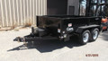 2017 Cam Advantage 5 Ton 6'X10' Dump Trailer