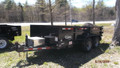 2018 5 Ton CAM 6'x12' Low Profile Dump Trailer w/ramps