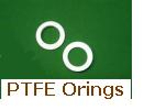 White PTFE Orings  Size 013    Price for 10 pcs