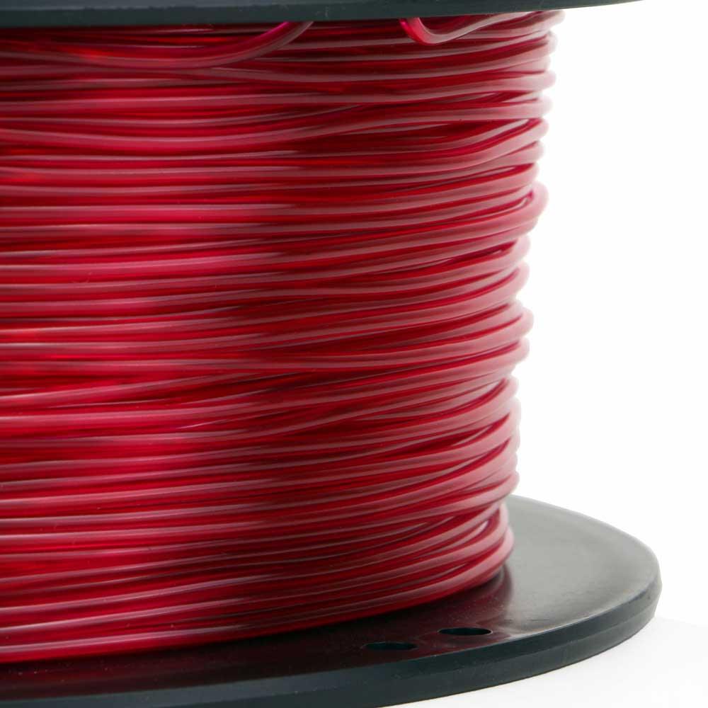 Flexible TPU Filament Translucent Red