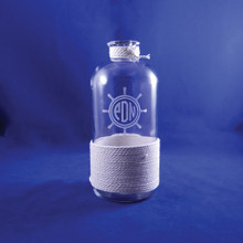 Monogrammed Nautical Bottle