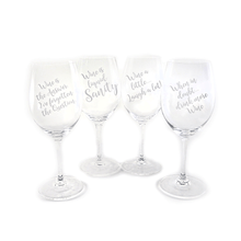 Personalized Wineisms RIEDEL DG Red Wine Glass, Set of 4