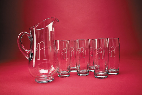 Personalized Monarch Drink Set