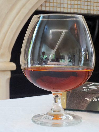 Large Personalized Brandy Snifter Glass