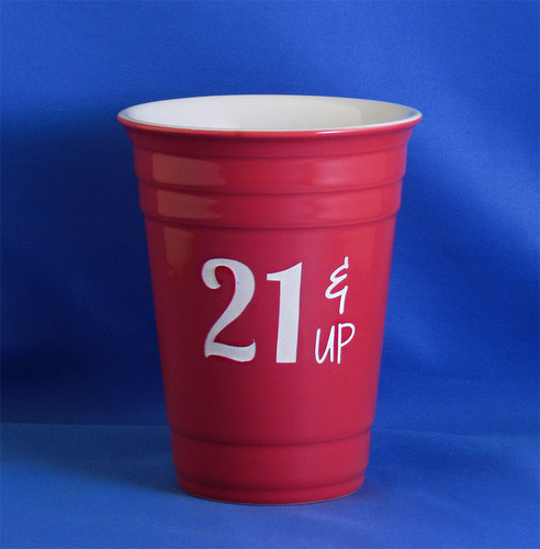 Personalized 21 & Up Red Solo Cup