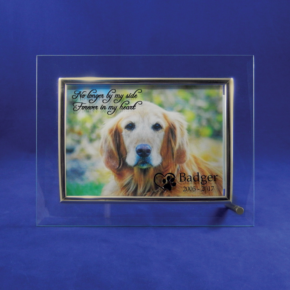 pet memorial picture frame in my heart - Dog Memorial Frame