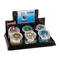 PUZZLE GLITTER PUSH OPEN ASHTRAY AS104
