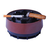 SMOKE FREE ASHTRAY BROWN A56