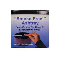 SMOKELESS ASHTRAY BLACK