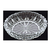 GLASS ASHTRAY ROUND A18