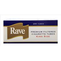 RAVE TUBES GOLD KING SIZE - CASE