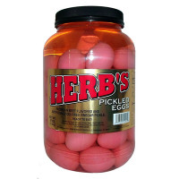 HERB'S PICKLED EGGS GALLON